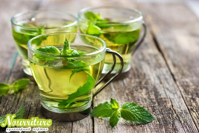 Марокканский мятный чай при болезнях печени и нервозности
