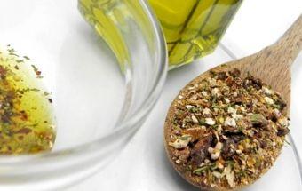 Салатная заправка на оливковом масле