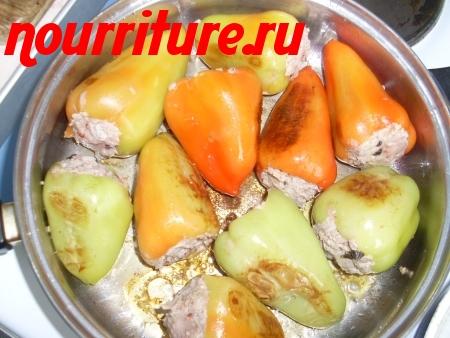 Обработка сладкого стручкового перца, предназначенного для салатов, фарширования, маринования и тушения