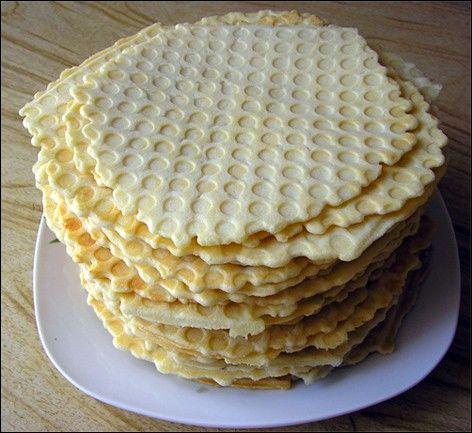 Тесто для сладких вафель (на молоке)