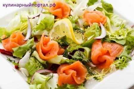 Салат рыбный (рецепты)