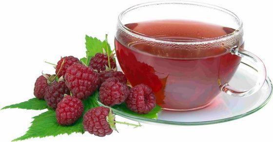 Настой сухих плодов малины при простуде, кори, гриппе