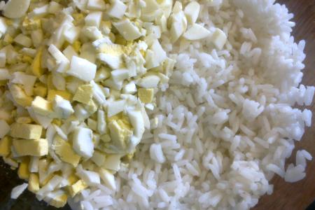 Фарш из риса (в том числе для пирогов)