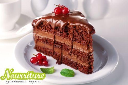 Сметанно-шоколадная глазурь