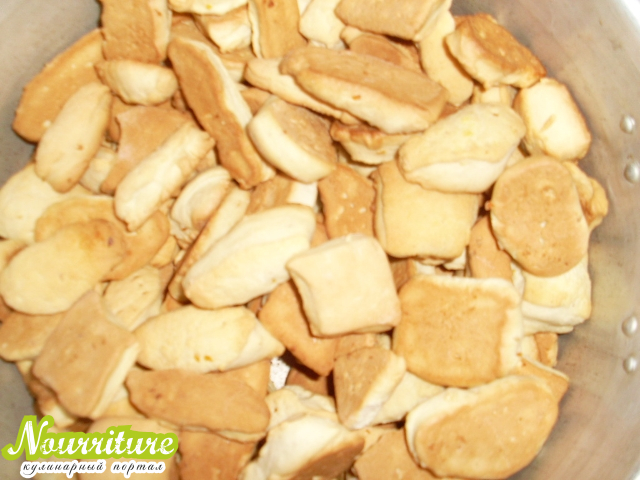 Печенье на кефире (обезжиренное)
