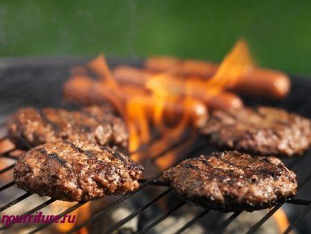 Бутерброды канапе с отварным мясом