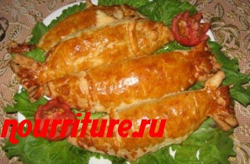 Закуска из шпрот, анчоусов, миноги, кильки, султанки или сельди в тесте
