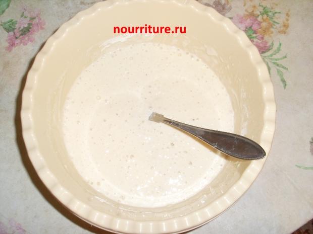 Рецепт жидких теста для блинов