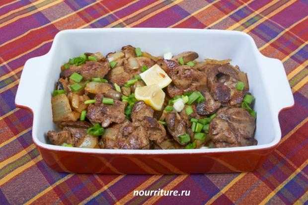 Блюда из филе мясо