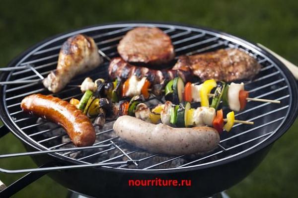 Шашлыки и блюда, приготовляемые на углях