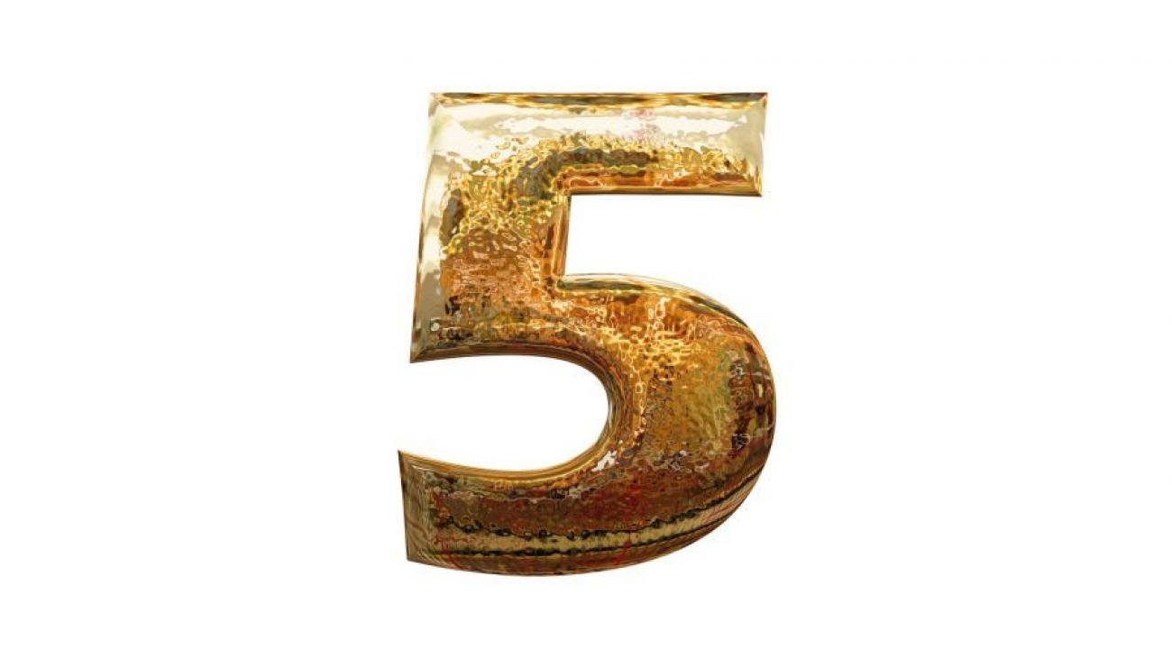 Сонник число 5